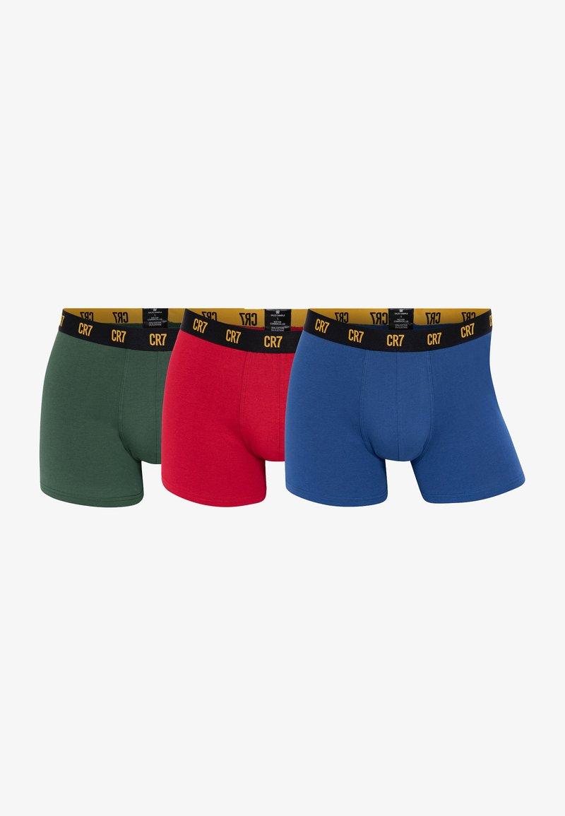 Cristiano Ronaldo CR7 - 3-PACK - Pants - balu/rot/grün