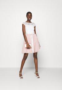 Swing - Cocktail dress / Party dress - peach blush/ivory - 1