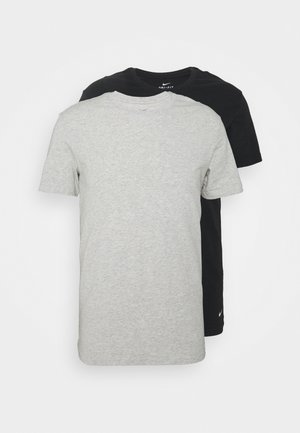 CREW NECK 2 PACK - Undershirt - grey