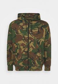 Polo Ralph Lauren Big & Tall - LONG SLEEVE - Zip-up sweatshirt - british elmwood - 4