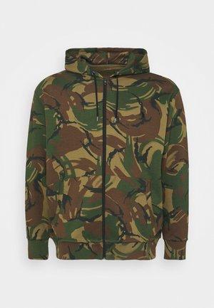 LONG SLEEVE - Zip-up sweatshirt - british elmwood