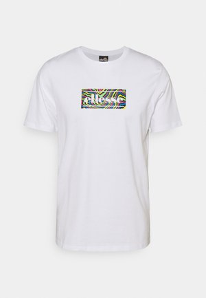 MOROLI TEE - Camiseta estampada - white