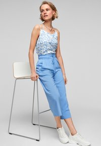 s.Oliver - Trousers - light blue - 5
