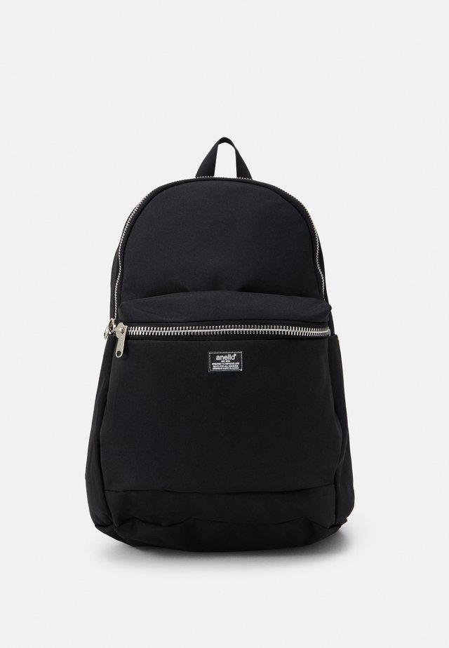 ROUNDED BACKPACK UNISEX - Rugzak - black