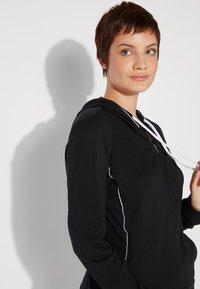 Tezenis - Zip-up hoodie - nero/bianco - 2