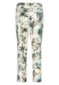 Betty Barclay - MIT AUFDRUCK - Trousers - nature/khaki - 4