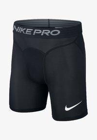 Nike Performance - Korte sportsbukser - black/white - 6