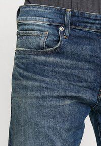G-Star - 3301 STRAIGHT - Džíny Straight Fit - higa stretch denim - medium aged - 3