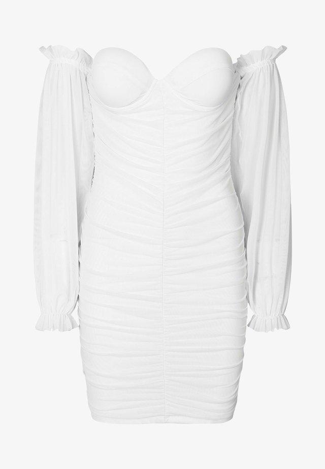 SANDRA - Etui-jurk - white