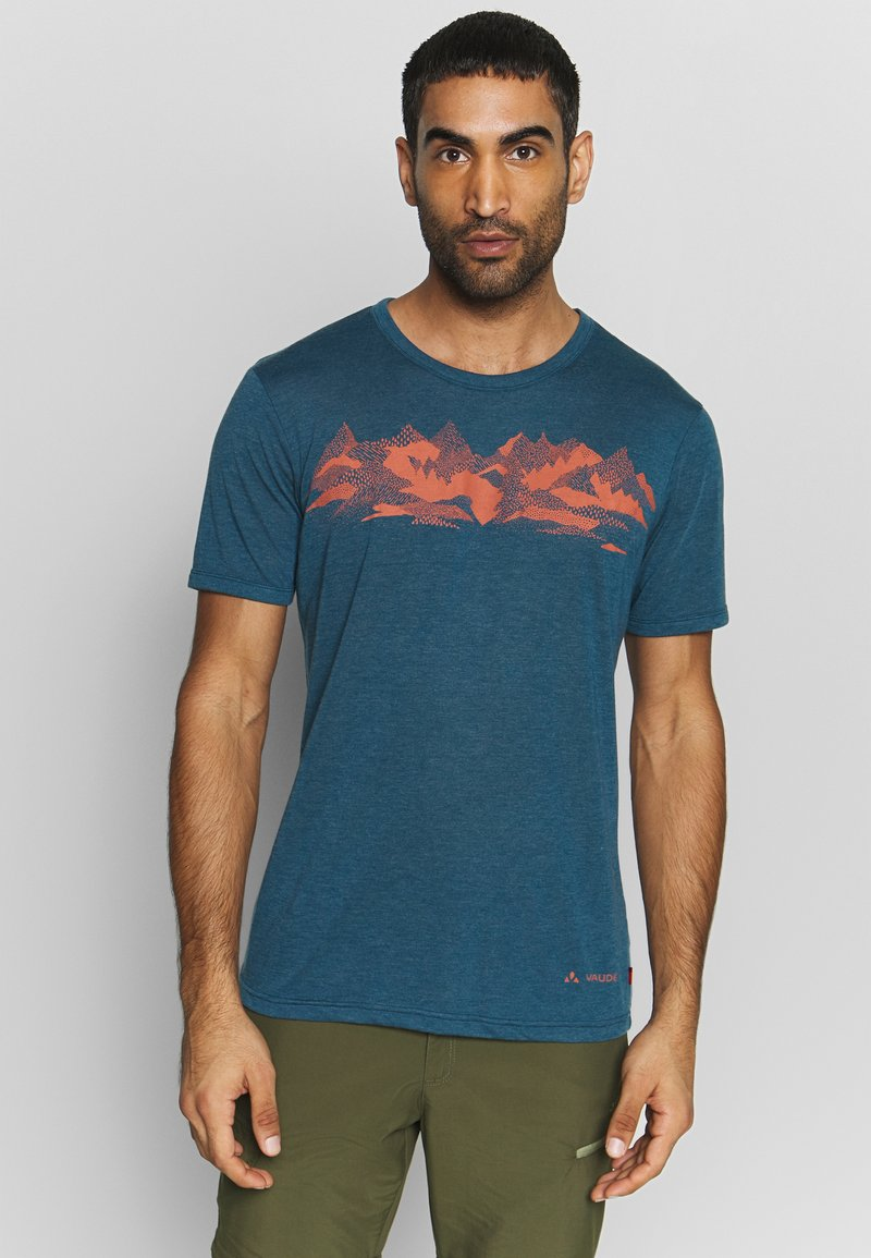 Vaude - ME PICTON - Print T-shirt - baltic uni