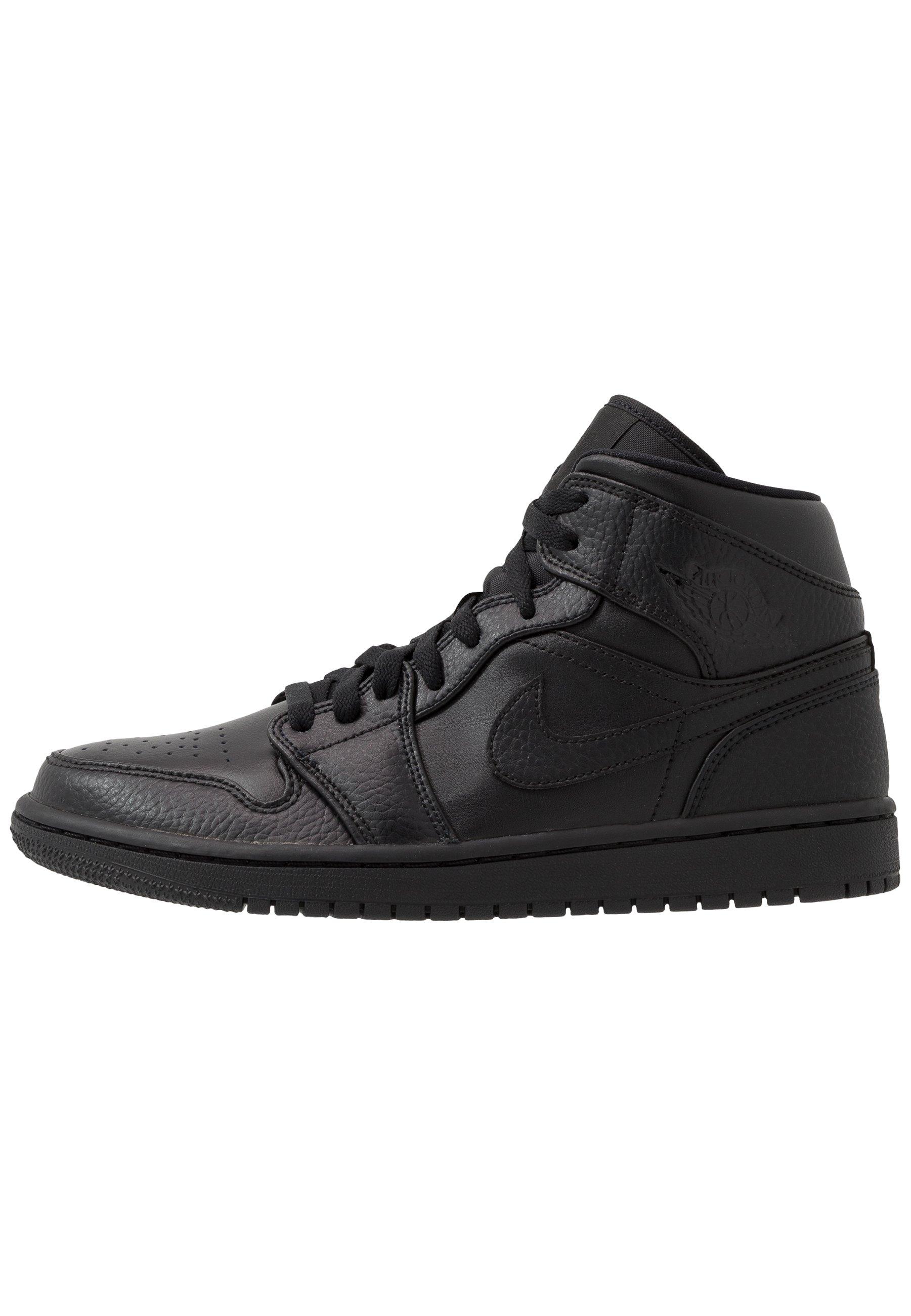 AIR JORDAN 1 MID - Baskets montantes - black