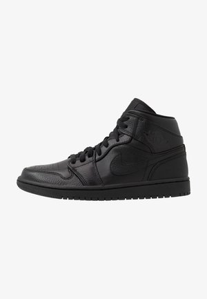 AIR 1 MID - Korkeavartiset tennarit - black