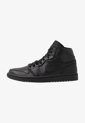 AIR JORDAN 1 MID - High-top trainers - black
