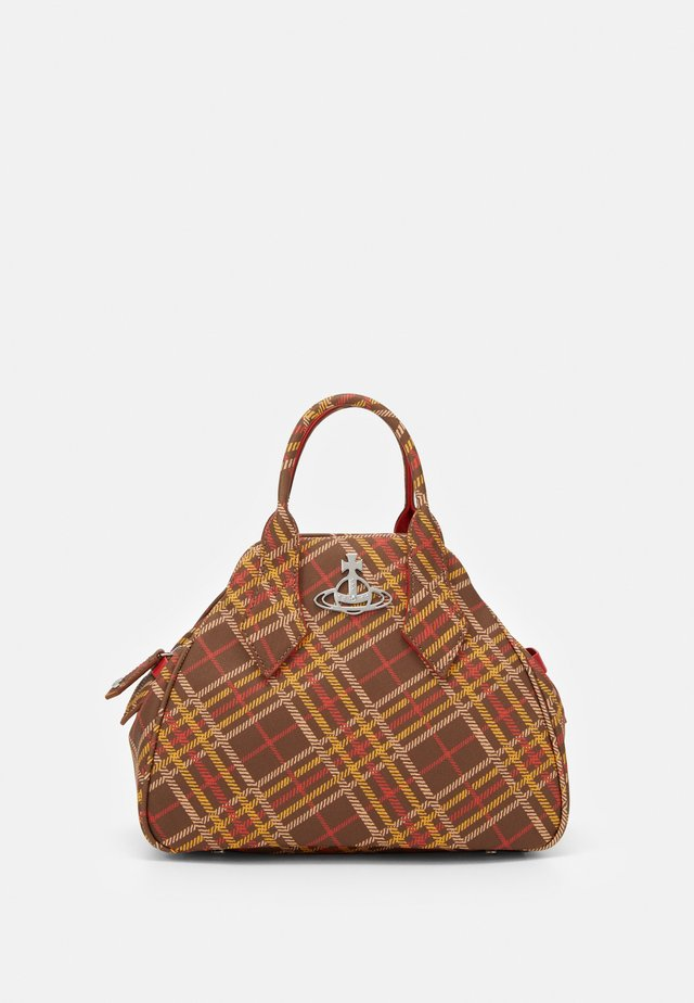 DERBY MEDIUM YASMINE - Borsa a mano - brown