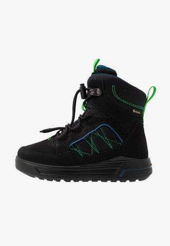 URBAN SNOWBOARDER - Winter boots - black/poseidon