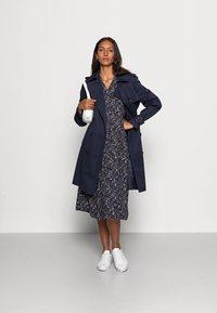 InWear - VIKSA LONG DRESS - Day dress - marine blue - 1