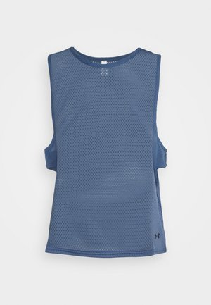 MUSCLE TANK - T-shirt sportiva - mineral blue