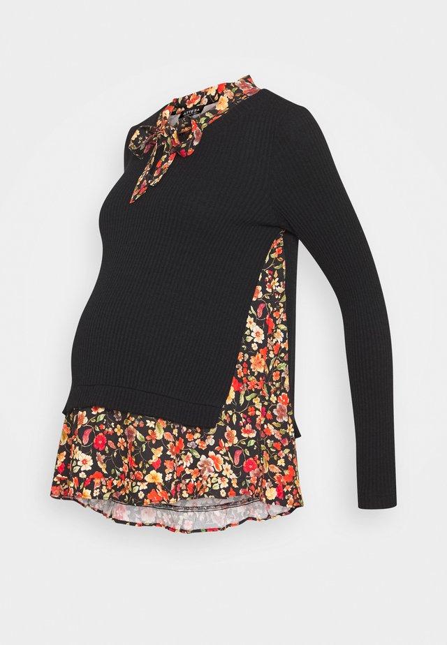 FINTA CASACCA - Pullover - black