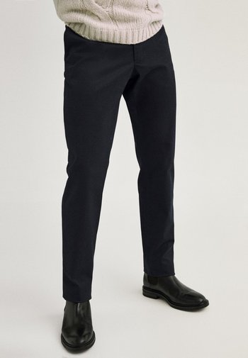 Chinos - blue-black denim