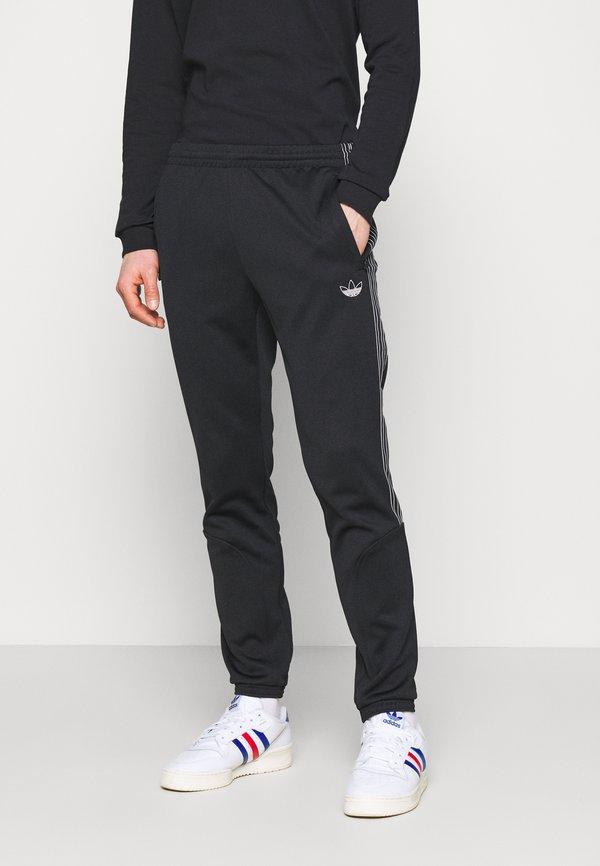 adidas Originals Spodnie treningowe - black/czarny Odzież Męska HQTG