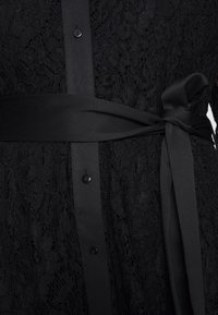 Live Unlimited London - HANKY HEM DRESS - Vestido camisero - black - 6