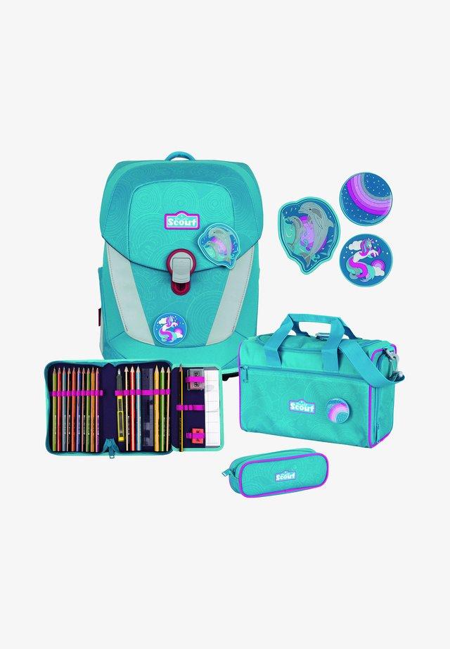 SUNNY II SET - School bag - dolphins