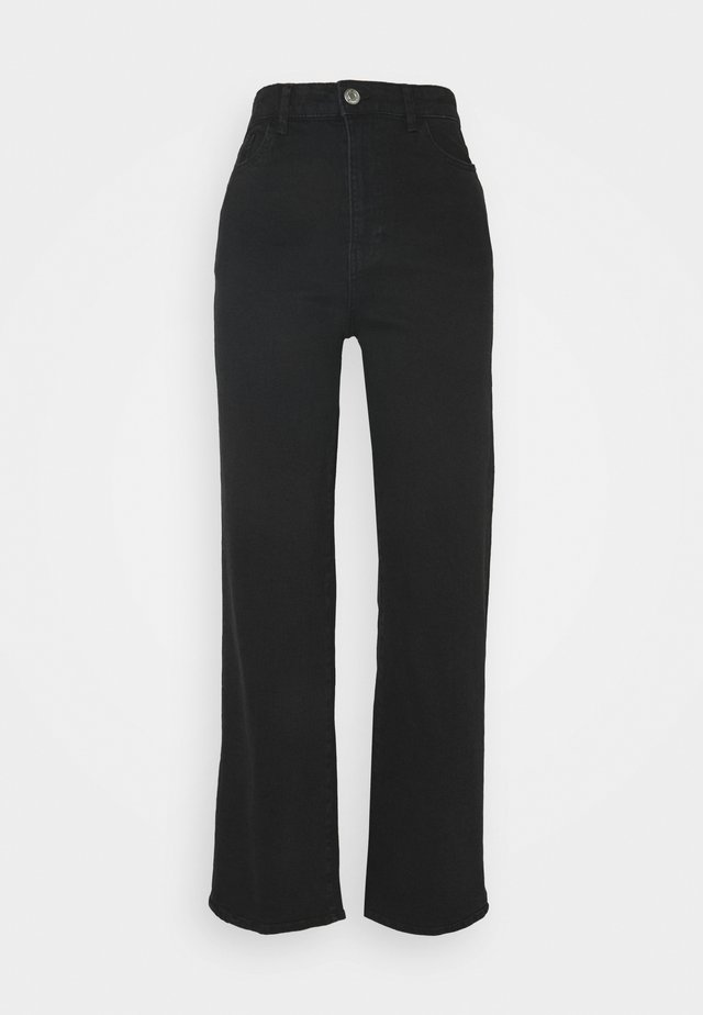 HANNA - Jeans a zampa - black