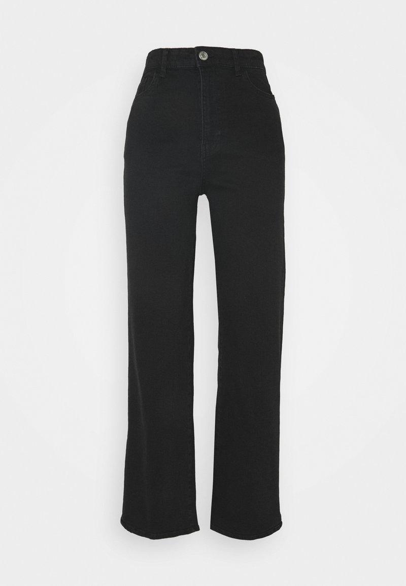 Lindex - HANNA - Flared jeans - black