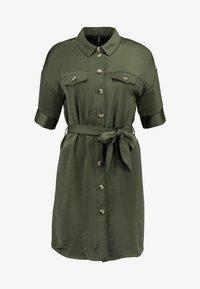 Vero Moda - VMJANE DRESS - Shirt dress - ivy green - 5