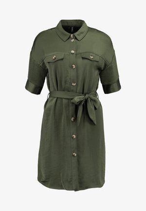VMJANE DRESS - Shirt dress - ivy green