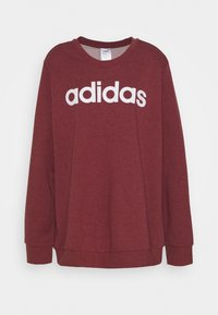 adidas Performance - ESSENTIALS PRIMEGREEN SPORTS - Sweatshirt - legend red/white - 0