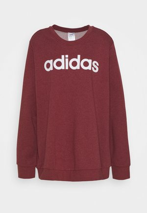 ESSENTIALS PRIMEGREEN SPORTS - Sweatshirts - legend red/white