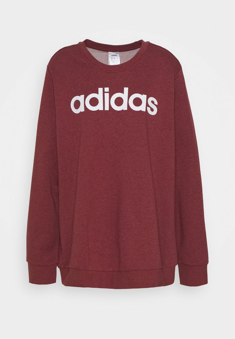 adidas Performance - ESSENTIALS PRIMEGREEN SPORTS - Sweatshirt - legend red/white