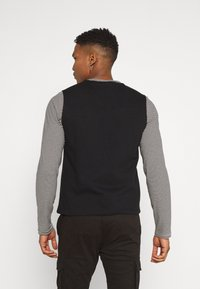 Only & Sons - ONSKING LIFE  - Waistcoat - black - 2