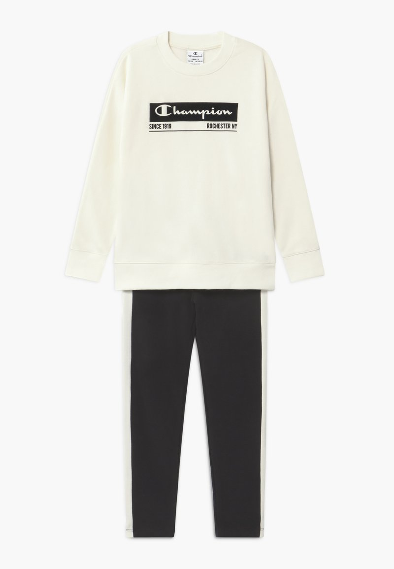Champion - LEGACY CREWNECK SUIT SET - Tuta - off-white