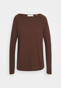 Rich & Royal - Long sleeved top - espresso - 0