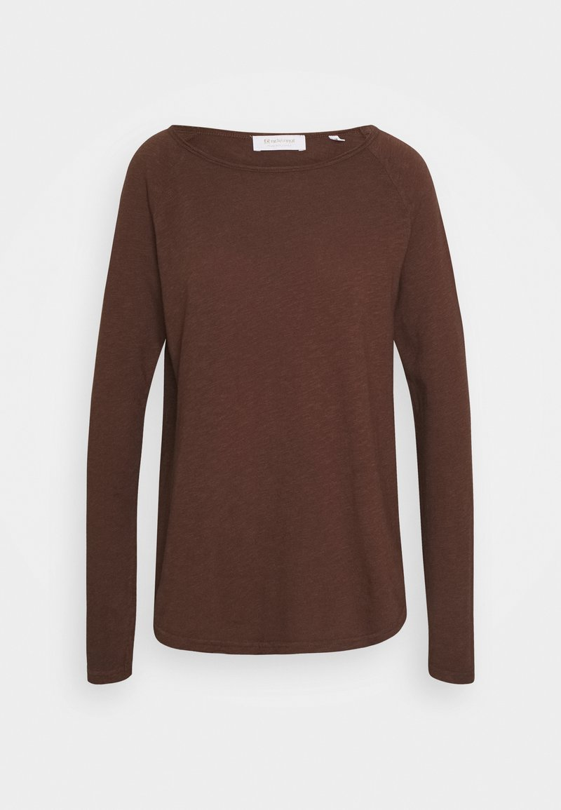 Rich & Royal - Long sleeved top - espresso