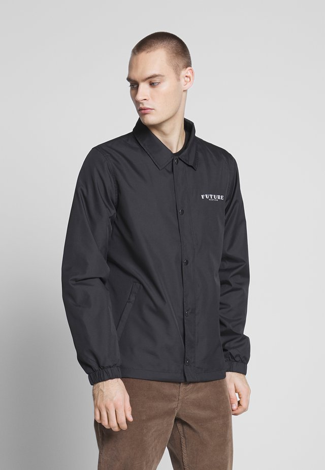 COACH JACKET - Veste légère - black