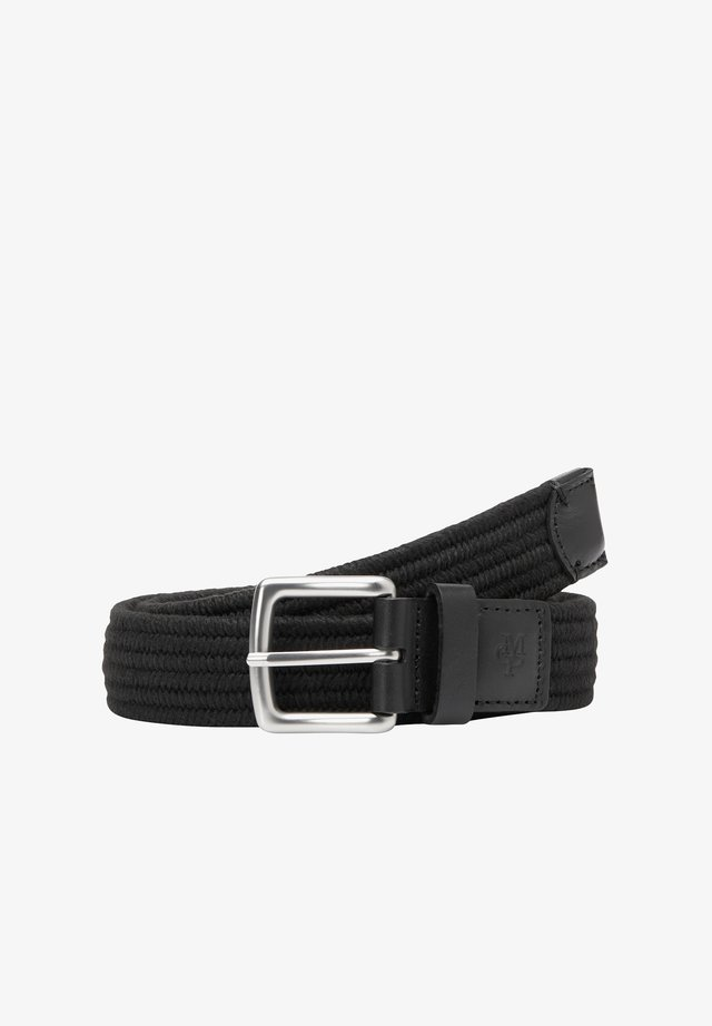 GÜRTEL IN FLECHTOPTIK - Belt - black