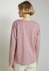 TOM TAILOR DENIM - Sweatshirt - cozy rose - 2