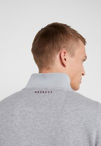 Hackett Aston Martin Racing - Felpa aperta - mid grey - 6