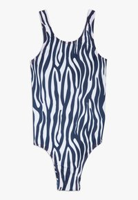Claesen's - GIRLS SWIMSUIT - Swimsuit - white/black - 0