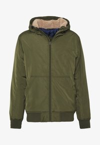 SHERPA HOODED - Winter jacket - olive