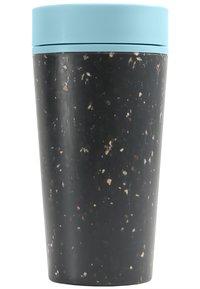 Circular&Co - CIRCULAR & CO KAFFEEBECHER TO GO MIT DECKEL - 340ml - Trinkflasche - Autres accessoires - schwarz / blau - 1