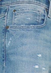 G-Star - 3301 SLIM - Slim fit jeans - azure stretch denim - 5