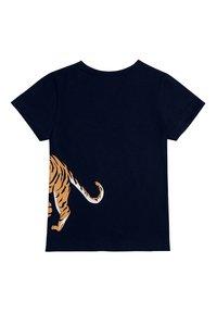 The Striped Cat - TIGER - Print T-shirt - navy - 1