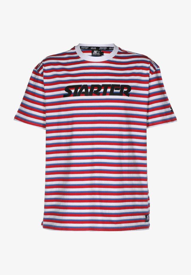 T-shirt con stampa - red white blue