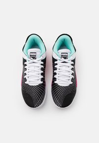 Puma - CLYDE ALL PRO - Basketball shoes - black/luminous pink - 3