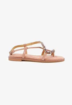 NAPOLES - T-bar sandals - pink
