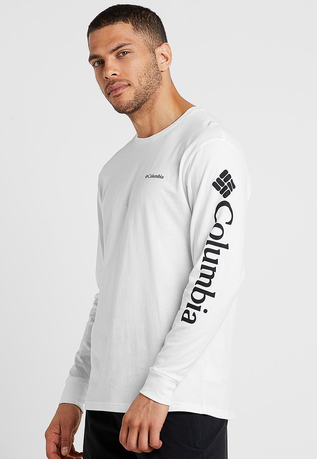 NORTH CASCADES™  - Long sleeved top - white/black